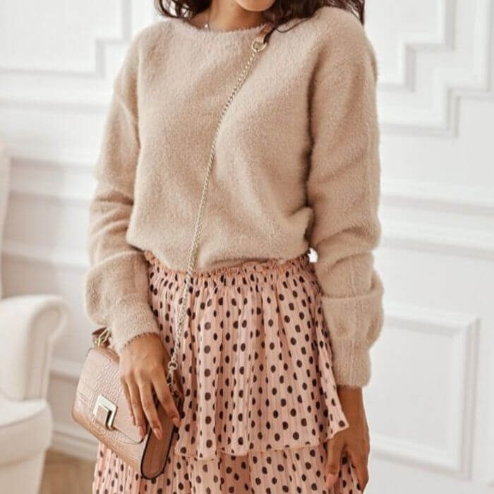 All Beige sweater