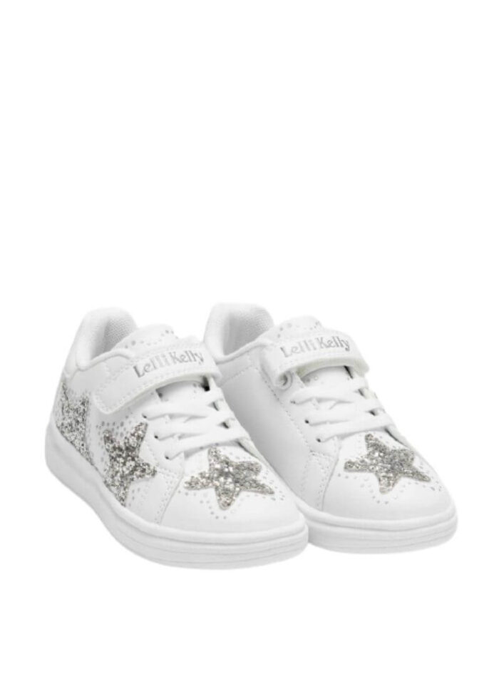 Lelli Kelly sneakers Glimmer λευκό-ασημί