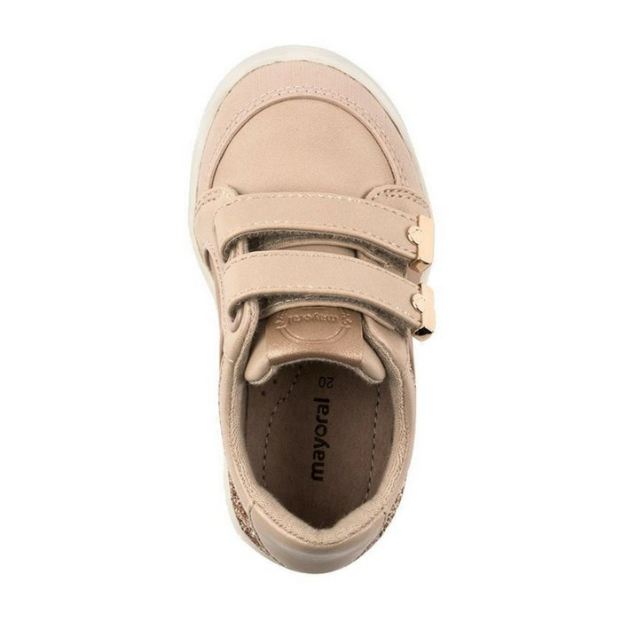Mayoral sneakers glitter nude