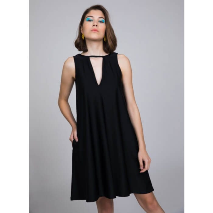 PCP In The Deep Mini Dress Black