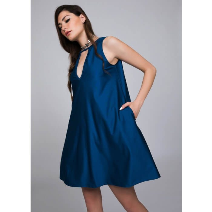 PCP In The Deep Mini Dress Sapphire
