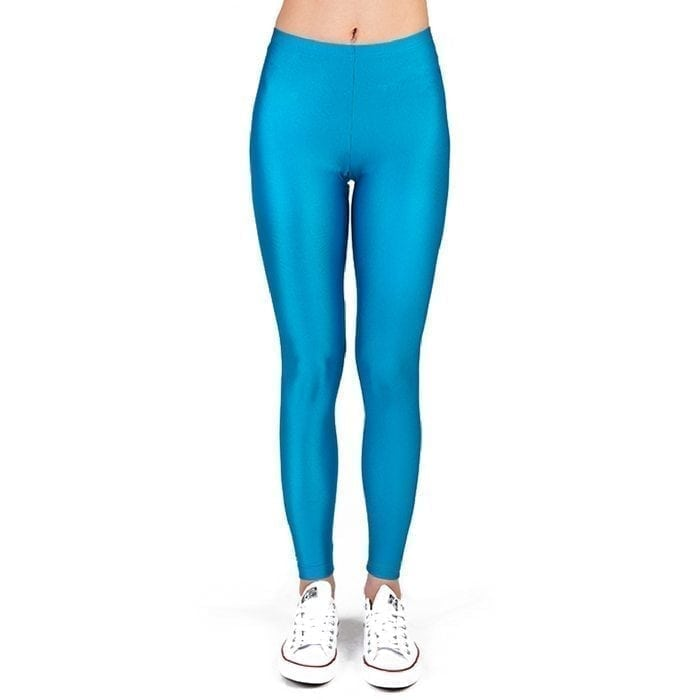 PCP LEGGING – CYAN SHINY
