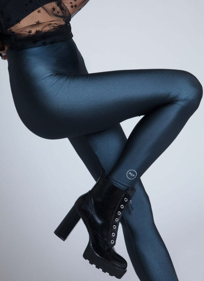 PCP Legging Jacqueline Coal Shiny