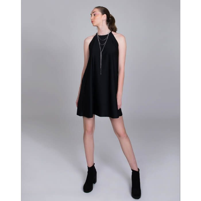 PCP Lust Mini Dress Black