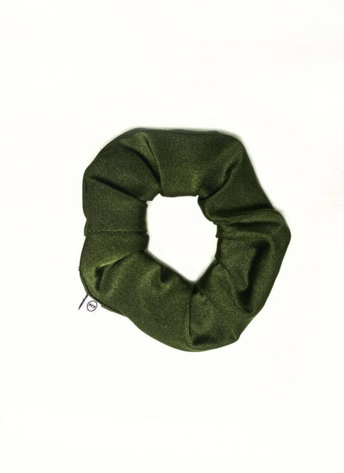 PCP Shiny Scrunchies Olive