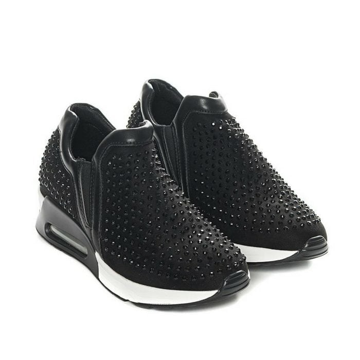 Sneakers Strass Black