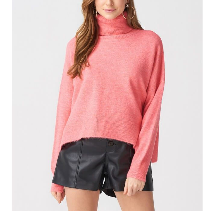 Somon turtleneck zip sweater