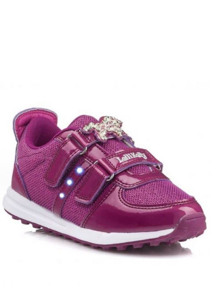 Lelli Kelly sneakers Unicorno Luci φούξια