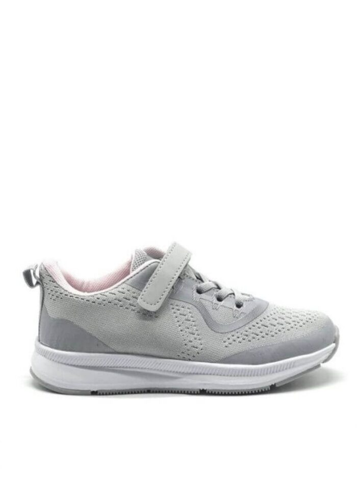 Lilly sneakers velcro γκρι