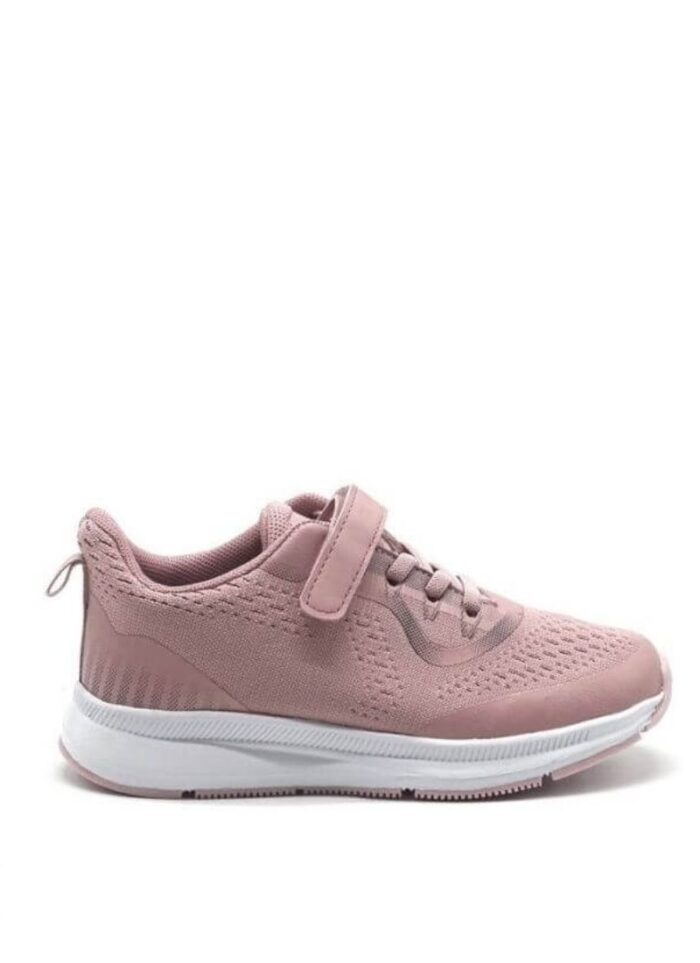 Lilly sneakers velcro ροζ