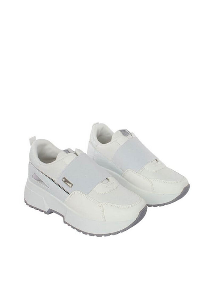 Sneakers Griffin flatform λευκό