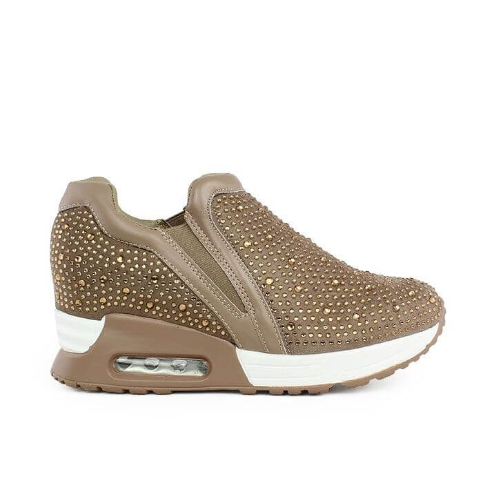 Sneakers Julie Strass gold