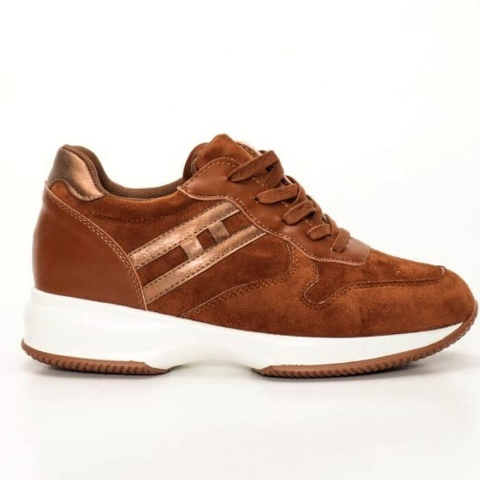 Sneakers Molly suede ταμπά
