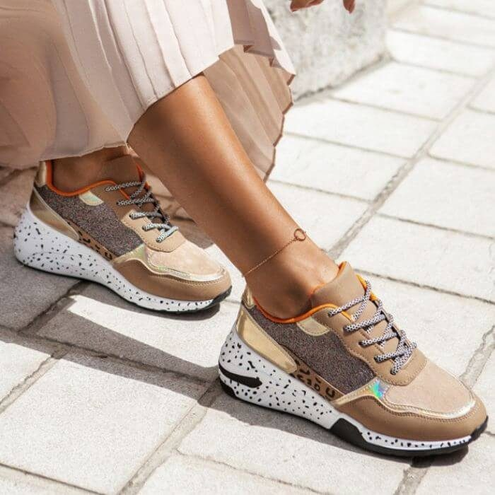 Sneakers Sahara Bronze