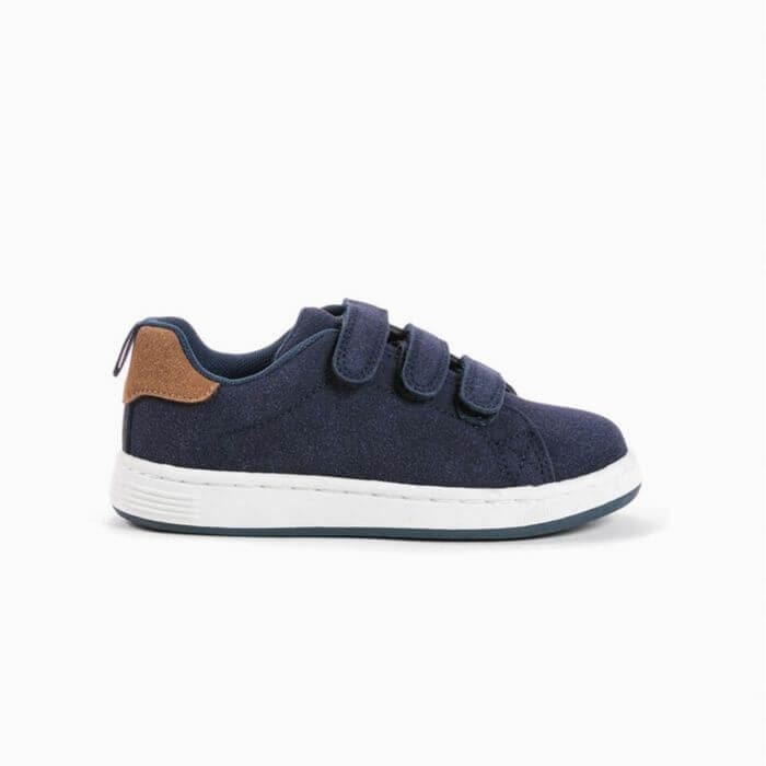 ZY Kids sneakers suede μπλε